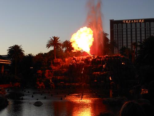 Erupting Volcano!