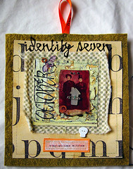 stay-at-home witches (the messy nest) Tags: art texture halloween collage vintage studio skull scary mixed october media jen witch antique buttons bat somerset felt spooky identity fabric seven layers 2008 stitched sewn osborn feminista identityseven jenosborn