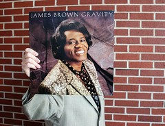 Sleeveface 11_James Brown 'Gravity' (TheRealWineGuy) Tags: music art nikon album cover lp d80 sleeveface