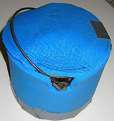 Pot Cozy for backpacking alcohol stoves