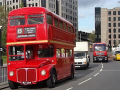 The Number 15 (kpmarek) Tags: city uk greatbritain england bus london unitedkingdom britain gb routemaster rm greaterlondon wlt324