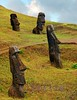 enigmatic faces (miguelyn.) Tags: chile perception nikon bravo southpacific moai easterisland rapanui isladepascua ranoraraku firstquality thegoldengallery supershot imagepoetry flickrsbest mywinners platinumphoto colorphotoaward flickrplatinum infinestyle theunforgettablepictures platinumheartaward goldstaraward world100f miguelyn magicdonkeysbest bestcapturesaoi magicunicornverybest magicunicornmasterpiece elitegalleryaoi ringexcellence dblringexcellence tplringexcellence eltringexcellence
