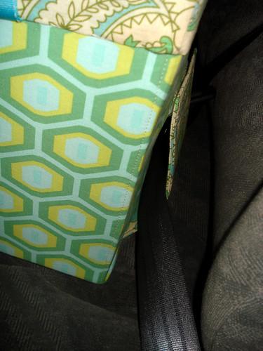seatbelt flap