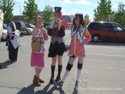 At conventions, there are a ton of cosplayers… A Tales Of Abyss cosplayer is ...