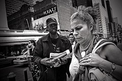 PALEASE (joewig) Tags: nyc people urban bw blackwhite interestingness streetphotography bewilderment ricohgrd 1500f5iso100