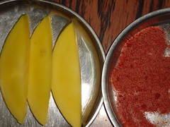 Mango, salt & chili !