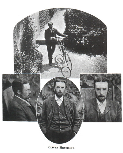 Portrait of Oliver Heaviside (1850-1925), Physicist