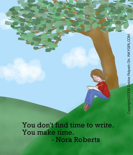 Making time to write