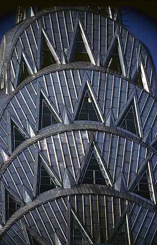 Chrysler Building close up