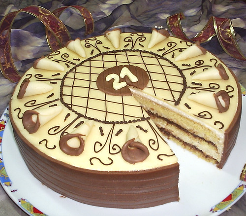 Marzipan Haselnuts Cake by you.