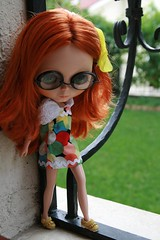 Vivien with glasses