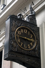 NYC - Rose Hill: Schwarzenbach Buildings South - Silk Clock by wallyg, on Flickr