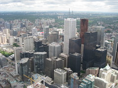 Toronto from CN Tower