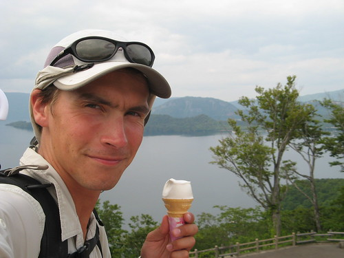 Another lake and ice-cream