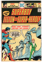 Legion of Super-Heroes 214 (Todd Wilson) Tags: comics superboy lsh legionofsuperheroes legionaires mikegrell