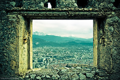 ~~ Window in the skies ~~ (Julien Ratel ( Jll Jnsson )) Tags: people mountain france history window montagne grenoble canon u2 memorial tokina openwindow libert eos350d fentre resistance vie peuple espoir isre 1224f4 windowtotheworld windowintheskies fentreouverte resistancememorial blueju38 julienratel damniwishidtakenthat julienratelphotography fenetresurlemonde desbisoustous