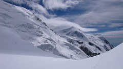 Mont Blanc (chaletlaforet) Tags: mountaineering chamonix aiguilledumidi cosmiquesarte