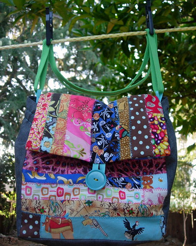 Patchwork Lunch Bag