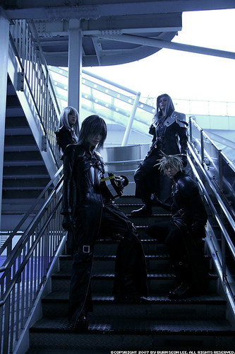 Final Fantasy VII Sephiroth Cosplay