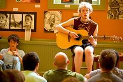 DSC_0211wtmk.jpg (ilyssacohenphotography) Tags: friends music art coffee rock java cafe punk indie f18 hangout warmtones buckscountycoffeeco