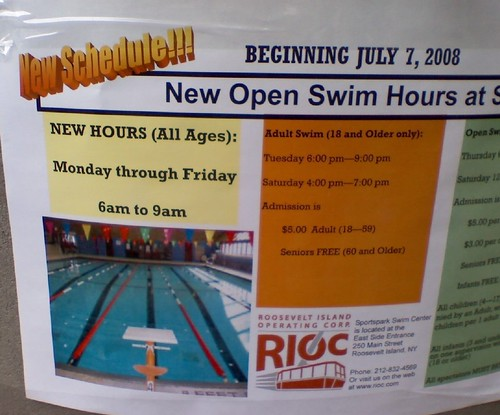 SportsPark Adds Early Swim Hours