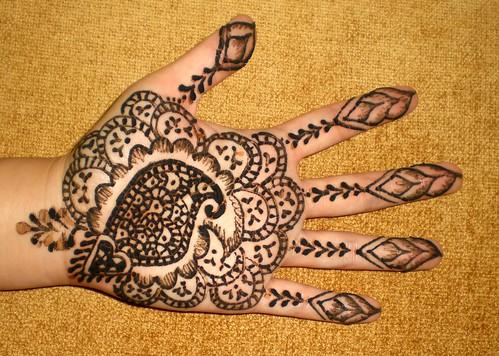 Diseos Fotos De Tattoos Decorativos Realizados Con Henna