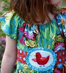 birdie. girl (annamariahorner) Tags: design sewing craft fabric quilting annamaria gardenparty