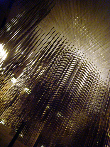 four seasons restaurant, seagram building, sculpture piece