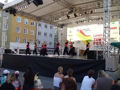 Tanzbühne auf dem Adenauerplatz