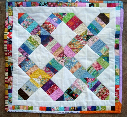 wonky doll quilt