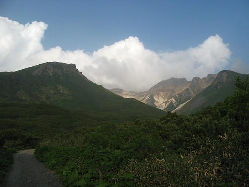 Tokachi-dake area