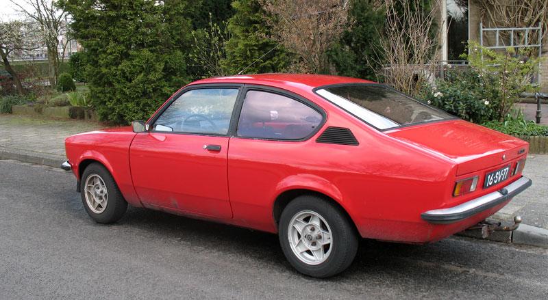 Opel Kadett C. opel kadett c. van de Opel