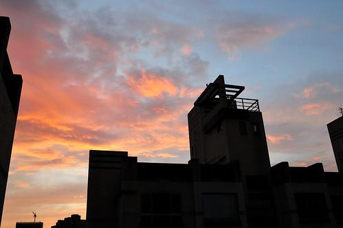 卡玫基颱風 - 日出