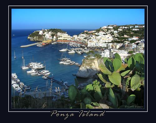 Ponza Island  -  postcard