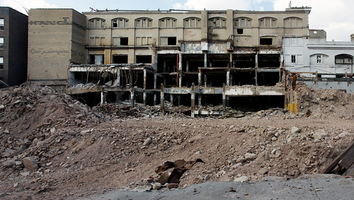 Ward Bread Bakery demolition continues
