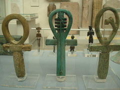 Ankh symbols