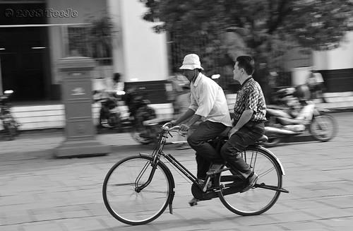Ojek Sepeda -Bicycle service