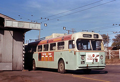 Brisbane City Council Sunbeam MF 28 Trolley Bus 35 at Milton Depot, Brisbane, Australia. (express000) Tags: australia trolleybus queenslandaustralia brisbanecitycouncil brisbanequeenslandaustralia sunbeamtrolleybus trolleybusesinaustralia miltondepotbrisbane brisbanecitycounciltrolleybus sunbeammf28trolleybus australiantrolleybuses