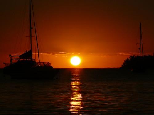 Ile des Pins 2008 #22 : Coucher de soleil #5