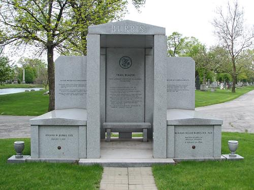 Roland Burris grave