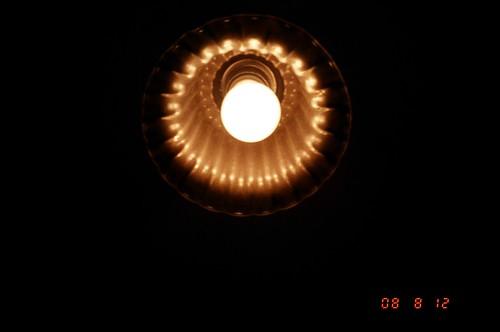 Lamp of rest room /トイレの電球