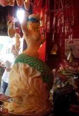 Chocolate Mermaid Front & Rocks - Choccy Woccy Doo Dah - Brighton