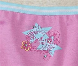 "Kids Disney Underwear Shouldnt Say ""Dive In"""