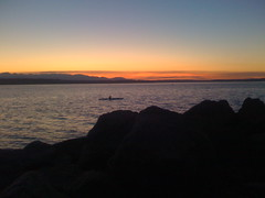 twilight kayak