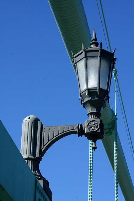 Detail, St. Johns Bridge