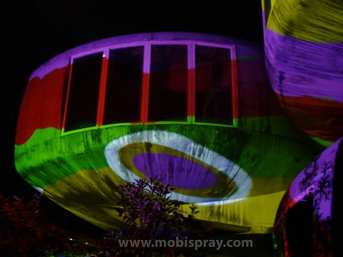 UFO houses MobiSpray Taiwan