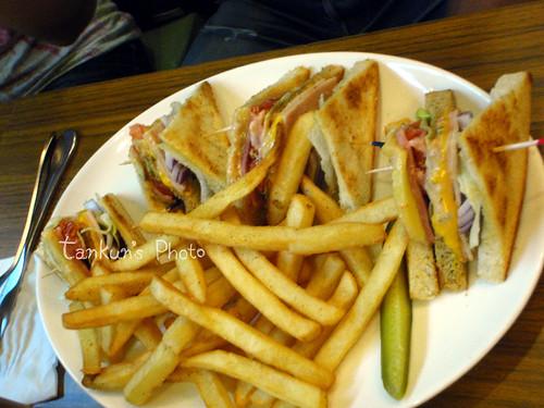 樂子三明治