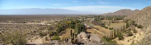 Samay Huasi - Panorámica desde el cerro