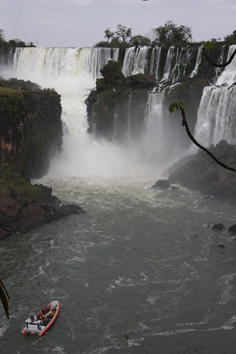 Boat Trip, Iguazu Falls
