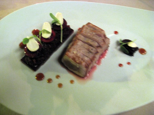 Abac: Tuna and Cherries with Sangria